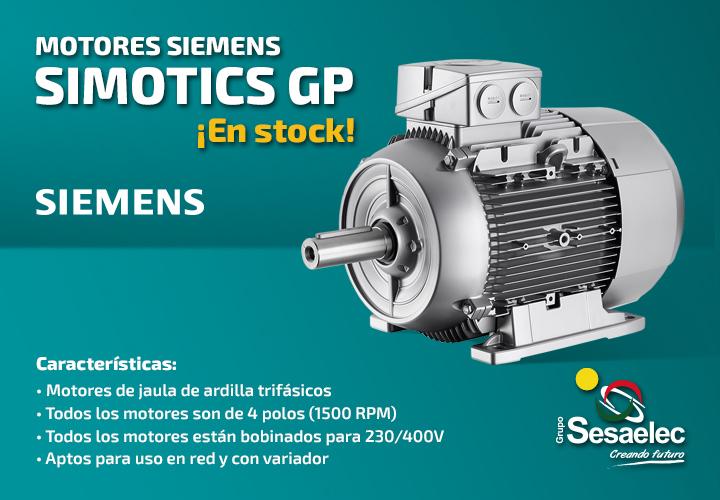 Motores Siemens Simotics GP