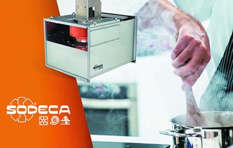 Nuevos extractores de alta eficiencia de Sodeca