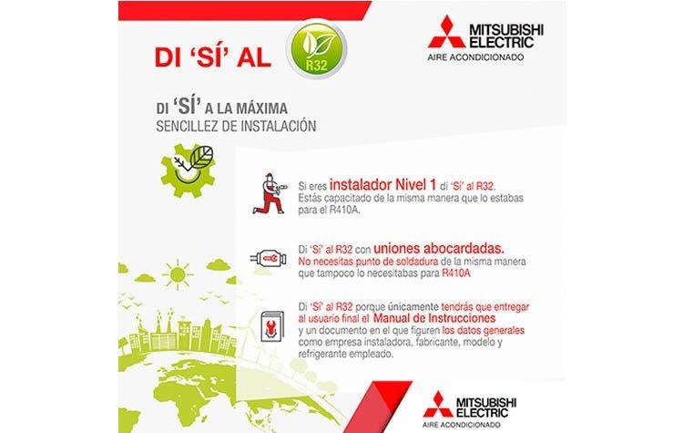 Nueva campaña informativa de Mitsubishi Electric
