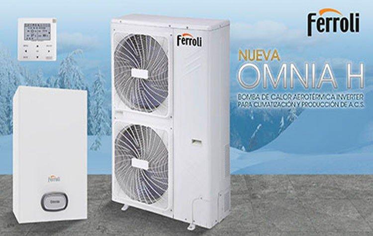 Nueva bomba de calor aerotérmica de Ferroli