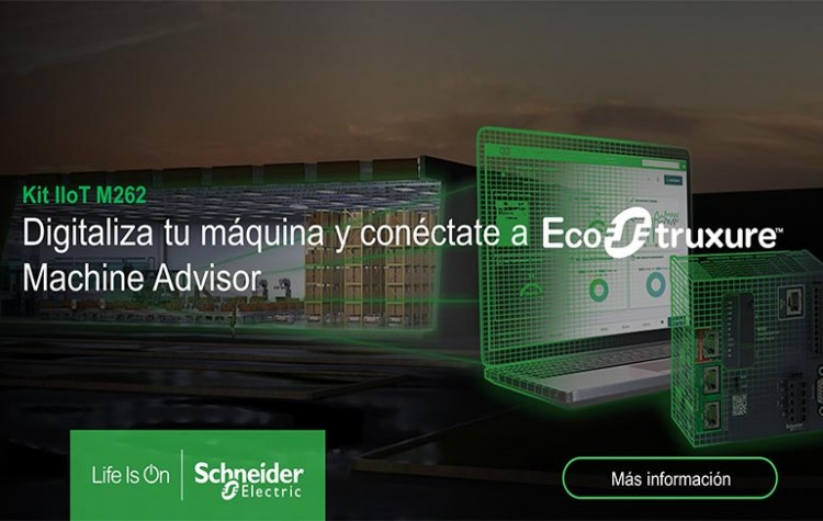 EcoStruxure Machine Advisor de Schneider Electric