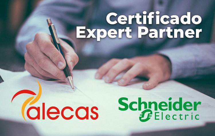 Renovamos el Certificado Partner IAD de Schneider Electric en Alecas