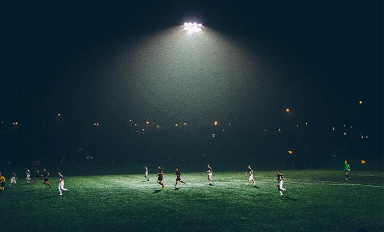 Secom Iluminación equipa un campo de fútbol con su iluminación LED