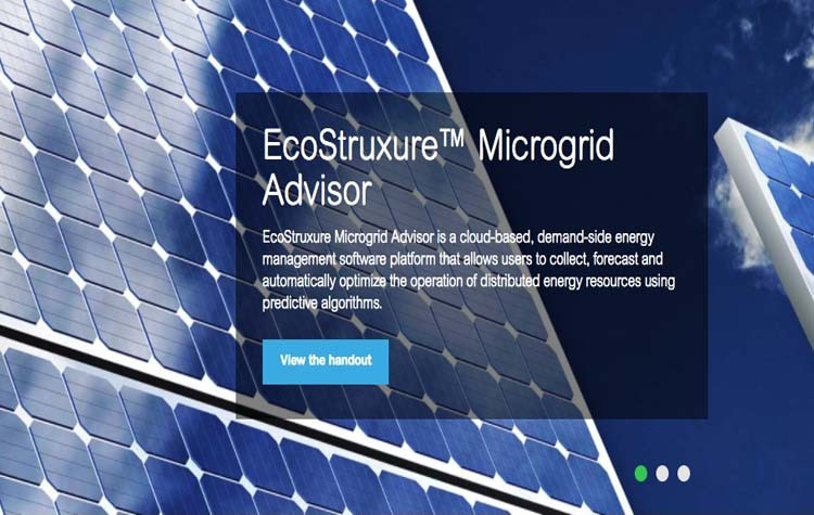 Schneider añade prestaciones a EcoStruxure Microgrid Advisor